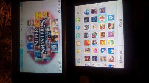 Nintendo 3ds Xl + 32 Juegos Incluidos