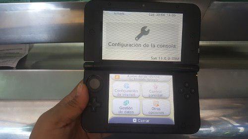 Nintendo 3ds Xl Azul Con Juegos En La Memoria.