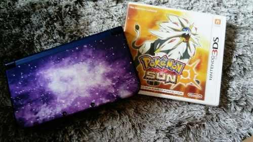 Nintendo 3ds Xl Galaxy 10/10 Con Pokemon Sun 10/10 +regalos