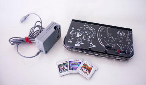 Nintendo 3ds Xl Pokemon Sol Y Luna