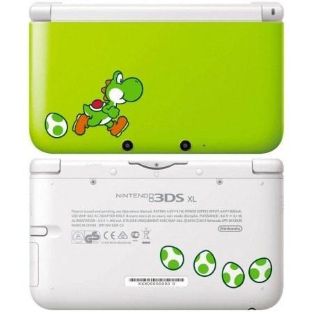 Nintendo 3ds Xl Yoshi + 32 Juegos 32gb