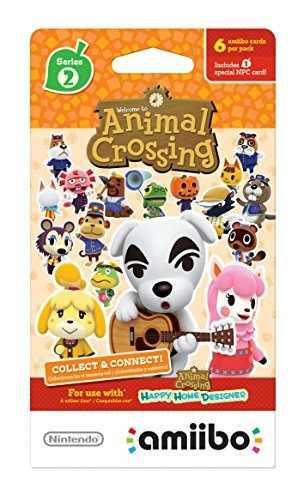 Nintendo Animal Crossing Tarjetas - Serie 2 (paquete De 6 C