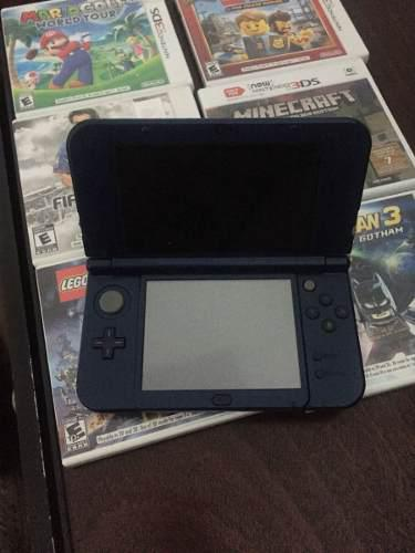 Nintendo Ds 3d Xl Edicion Galaxy +6 Juegos Originales.