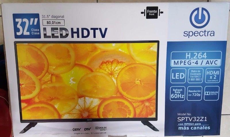 """PANTALLA NUEVA TV 32"""" SMART TV BOX INCLUIDO EMPACADOS SIN"""