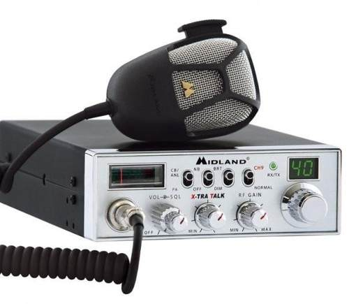Radio Cb Midland z 40 Canales 4 Watts Xtra Talk
