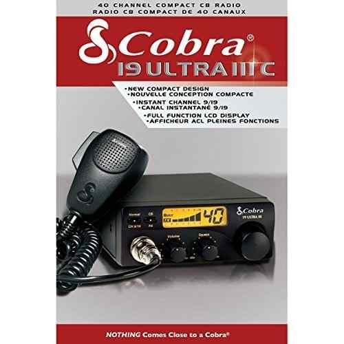 Radio Cobra 19 Ultra Iii Cb 40 Canales Compacto 4 Watts