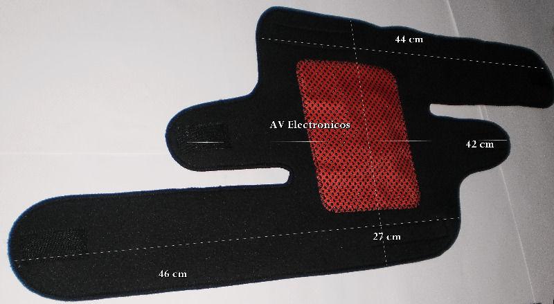 Rodillera se calienta sola Turmalina 8 imanes magnetica