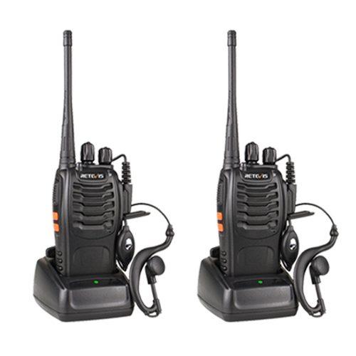 Set De 2 Radios Retevis H Canales 5 Watts Envió