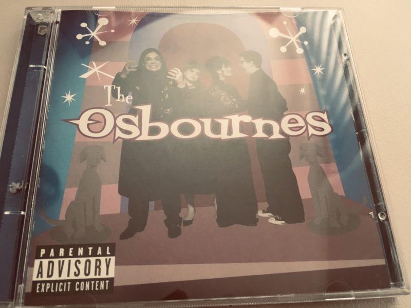 The osbournes cd original