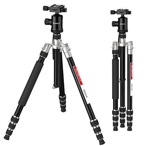 Beschoi Camera Tripod For Dslr Slr Lightweight Aluminum Trav
