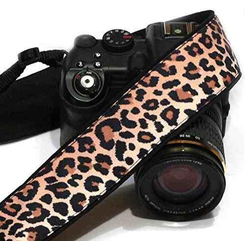 Cheetah Camera Strap. Leopard Camera Strap. Slr / Dslr Camer