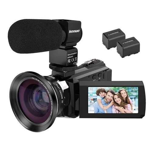Cámara De Vídeo De La Cámara De Vídeo 4k Videocámara