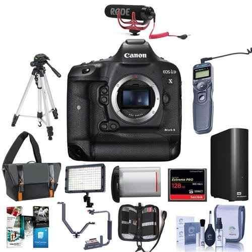 Cámara Digital Slr Canon Eos-1dx Mark Ii - Paquete Con Tarj
