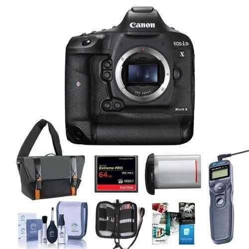 Cámara Digital Slr Canon Eos-1dx Mark Ii - Paquete Con W4