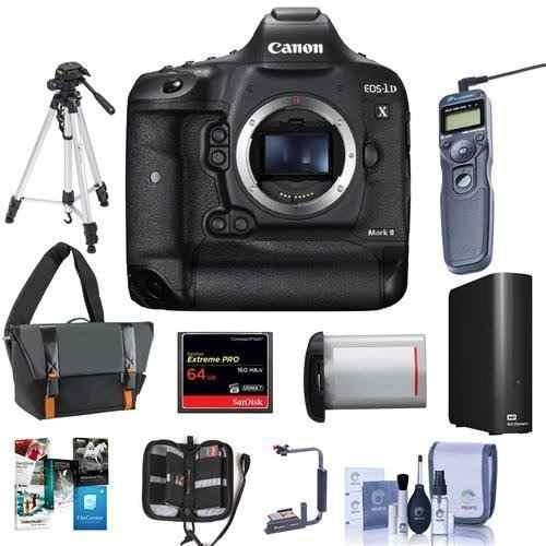 Cámara Digital Slr Canon Eos-1dx Mark Ii - Paquete Con W5