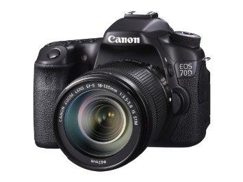 La Cámara Canon Eos 70d Digital Slr Con La Lente De Mm St