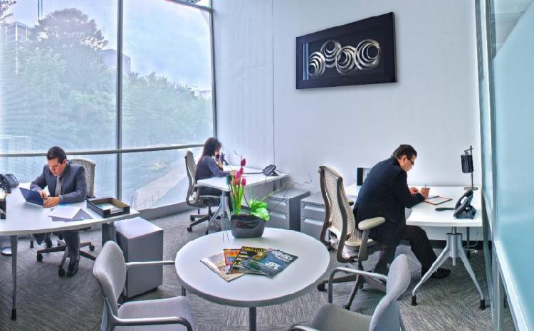 Oficinas Corporativas Equipadas con Todo Incluido en Reforma