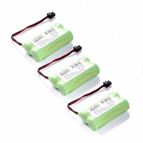 Pack De 3 Baterías Teléfono Uniden Bt-, Envío Gratis