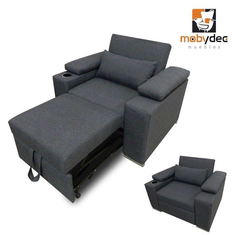 Sofa cama minimalista plegable individual posot class - Sofa cama minimalista ...