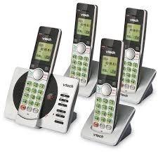 Telefono De Casa Vtch Cuaduple Con Contestadora Envio Gratis