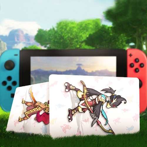 Zelda Breath Nfc 22 Pcs Play Cards Para Switch / Wii U