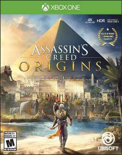 Assassins Creed Origins Xbox One Nuevo Y Sellado D3 Gamers
