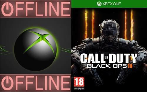 Call Of Duty Black Ops I I I Para Xbox One Off-line