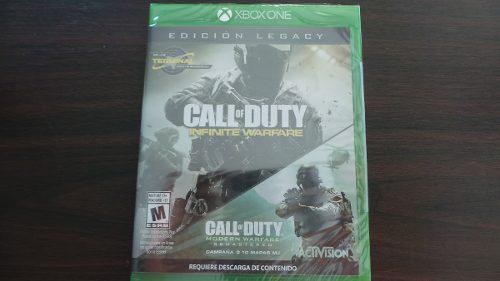 Call Of Duty Infinite Warfare Ed Legacy Xbox One Nuevo Sella