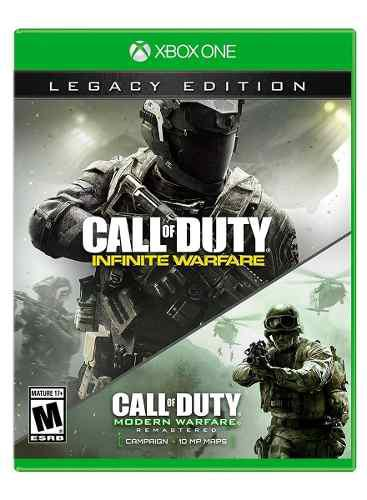 Call Of Duty Infinite Warfare Legacy Ed Xbox One Nuevo Envio