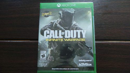 Call Of Duty Infinite Warfare Xbox One Nuevo Sellado