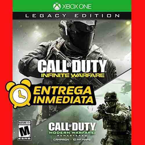Call Of Duty Infinite Y Modern Warfare Pack Xbox One Offline