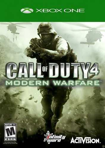 Call Of Duty Modern Warfare Xbox 360/xbox One Lea