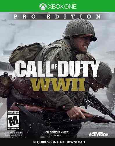 Call Of Duty Ww Ii World War 2 Pro Edition Xbox One Nuevo