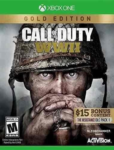 Call Of Duty Wwii World War 2 Gold Edition Xbox One Nuevo