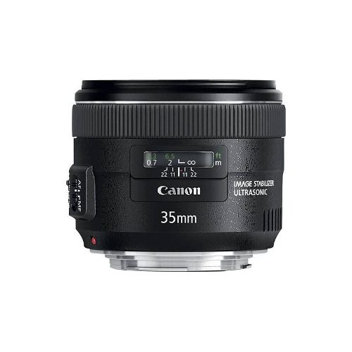 Canon - Ef 35 Mm F / 2 Is Lente Gran Angular Usm - Negro