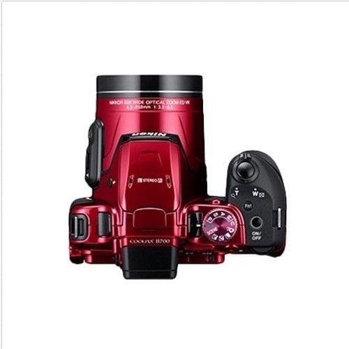 Cámara Digital Nikon Coolpix Bk-uhd)rojo+ Envío