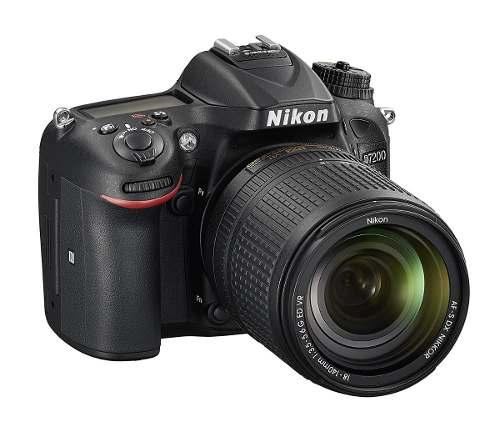 Cámara Nikon D Con Lente Af-s Dx Nikkor mm Msi