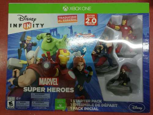 Disney Infinity 2.0 Marvel Heroes Starter Pack Xbox One