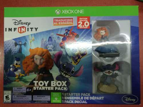Disney Infinity 2.0 Toy Box Starter Pack Xbox One:. Bsg