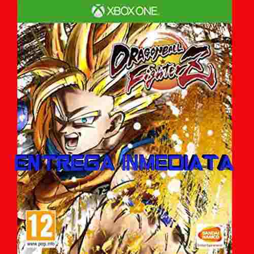 Dragon Ball Fighter Z Xbox One Offline No Código Fighterz