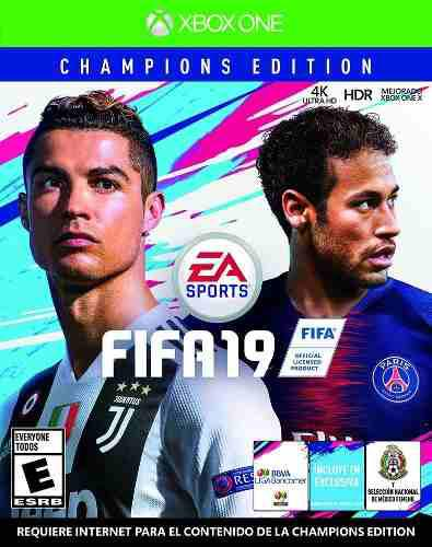 Fifa 19 Champions Edition Xbox One Nuevo (en D3 Gamers)