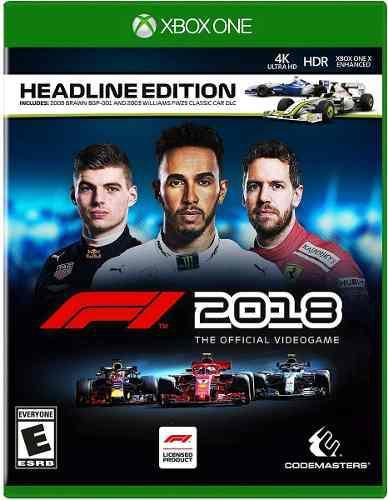 Formula 1 2018 F1 2018 Para Xbox One En Wholegames !!