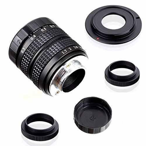 Fujian 35mm F/1.7 Cctv Cine Lens For Sony Nex E-mount Camera