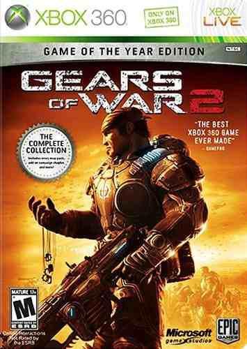 Gears Of War 2 Edición Del Juego Del Año