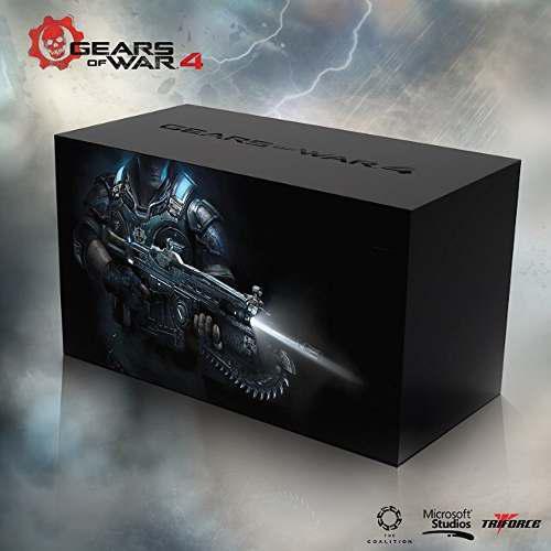 Gears Of War 4 Collectors Edition (figura Sin Juego) Xbox