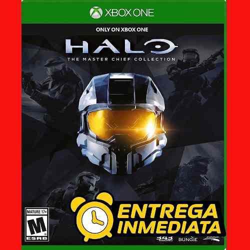 Halo 2 3 4 Master Chief Collection Xbox One Offline No
