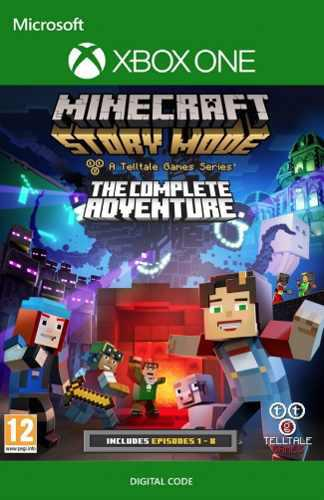 Juego Xbox Minecraft Story Mode Complete Adventure