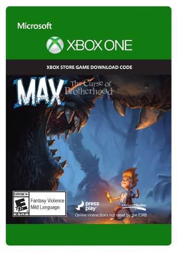 Juego Xbox One Max The Curse Of Brotherhood