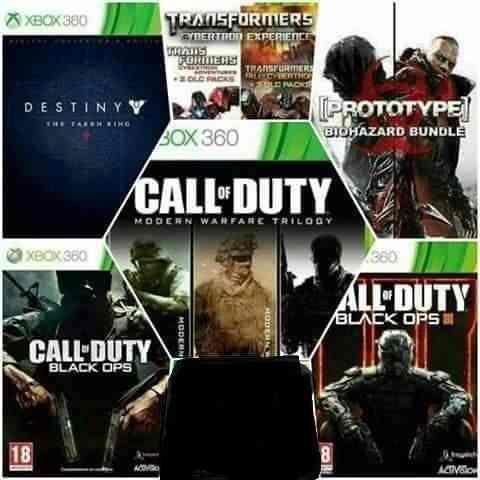 Juegos Online Xbox 360 / Xbox One Original. Oferta $30 Pesos
