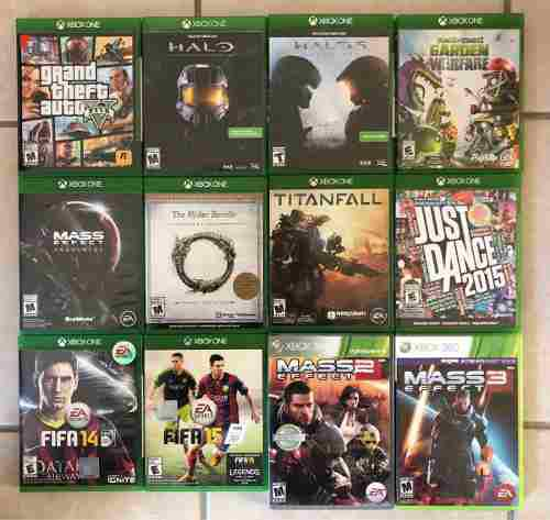 Juegos Xbox One / Xbox 360 Originales